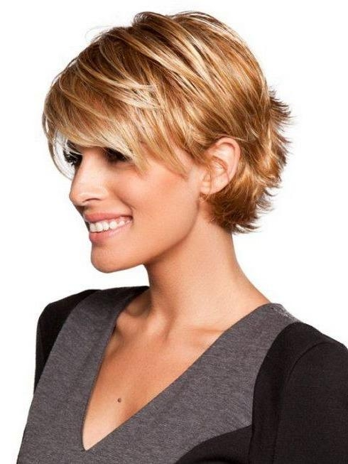 Short Hairstyles: New Ideas Short Hairstyles For Fine Hair Oval Inside Short Hairstyles For Fine Hair And Oval Face (View 11 of 15)