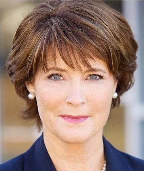Short Hairstyles Over 50 – Short Haircut For Women Over 50 With Regard To Short Trendy Hairstyles For Over  (View 8 of 15)