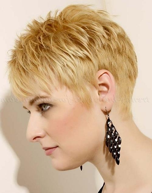 Short Hairstyles Over 50 – Short Haircut Over 50 | Trendy Intended For Short Trendy Hairstyles For Over  (View 10 of 15)