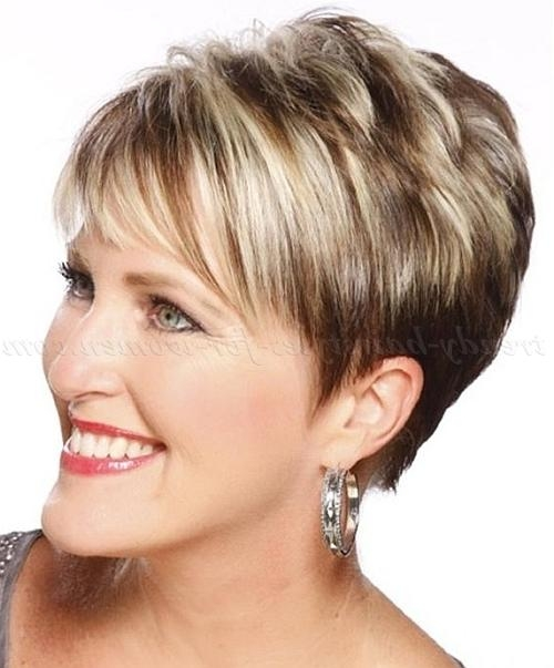 Short Hairstyles Over 50 – Short Hairstyle Over 50 | Trendy With Short Trendy Hairstyles For Over  (View 13 of 15)