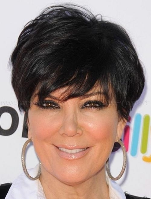 Photo Gallery Of Short Trendy Hairstyles For Over 50