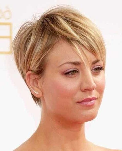 Short Hairstyles: Short Hairstyles For Fine Hair 2016 Over 40 2016 Within Short Haircuts For Fine Hair Over  (View 15 of 15)
