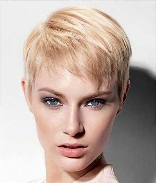 Short Hairstyles: Short Hairstyles For Fine Hair 2016 Over 40 Best In Short Hairstyles For Fine Hair Over  (View 15 of 15)