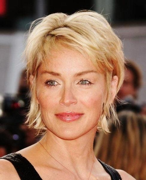 Short Hairstyles: Short Hairstyles For Fine Hair Over 50 Round Within Short Hairstyles For Fine Hair For Women Over  (View 14 of 15)