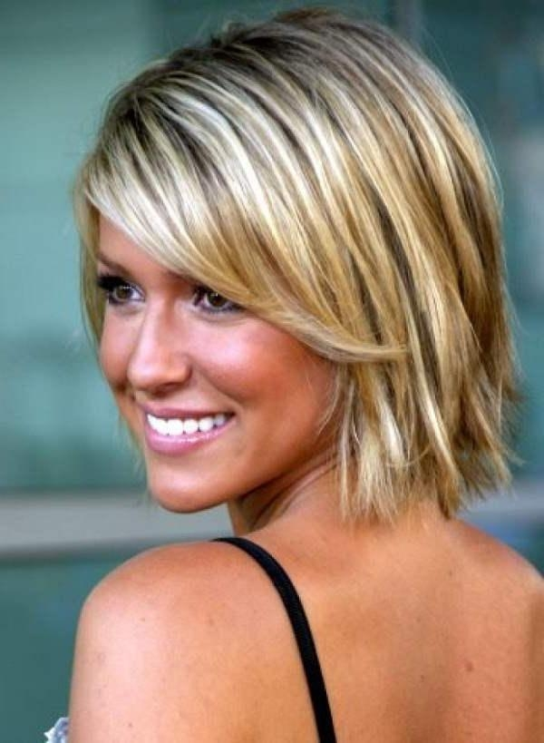 Short Hairstyles: Very Best Short Hairstyles Oval Face Cute In Short Hairstyles For Fine Hair And Oval Face (View 14 of 15)