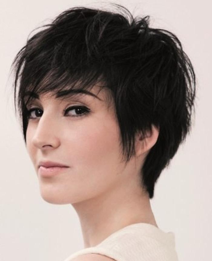 Photo Gallery Of Short Haircuts For Women With Oval Face Viewing 8