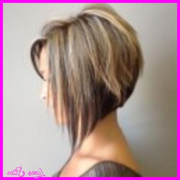 Short In The Back Long Front Haircut Bob – Hairstyles – Fashion With Regard To Short In Back Long In Front (View 14 of 15)