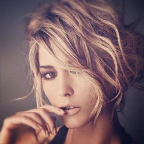 Short Wavy Hairstyles For Oval Faces | Short Hairstyles 2016 Intended For Women's Short Hairstyles For Oval Faces (View 6 of 15)