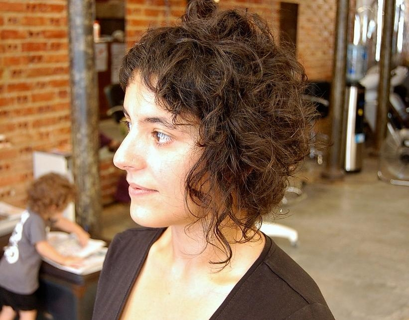 Soft Waves, Spiky Textures & Romantic Tendrils – Curly Hairstyles With Regard To Edgy Short Curly Haircuts (View 8 of 15)