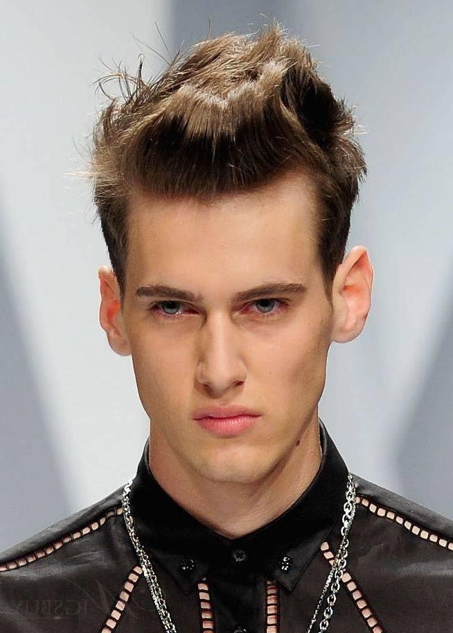 Straight Hairstyles For Men | Cool Men Hairstyles Intended For Short Straight Hairstyles For Men (View 14 of 15)
