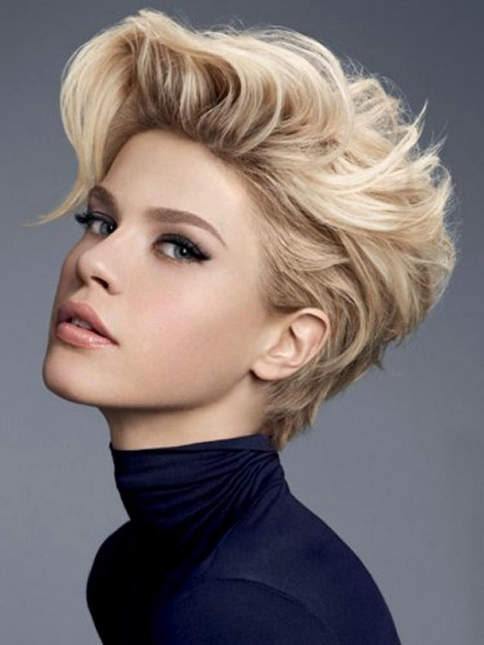 Stylish Hairstyles And Haircuts For Teenage Girls Within Short Hair Cuts For Teenage Girls (View 14 of 15)