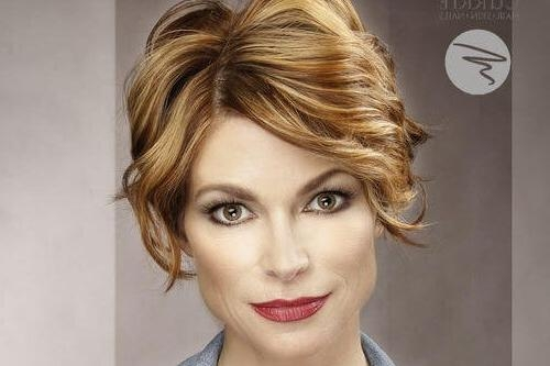 The 20 Ultimate Short Hairstyles For Long Faces In Short Haircuts For Thin Faces (View 15 of 15)