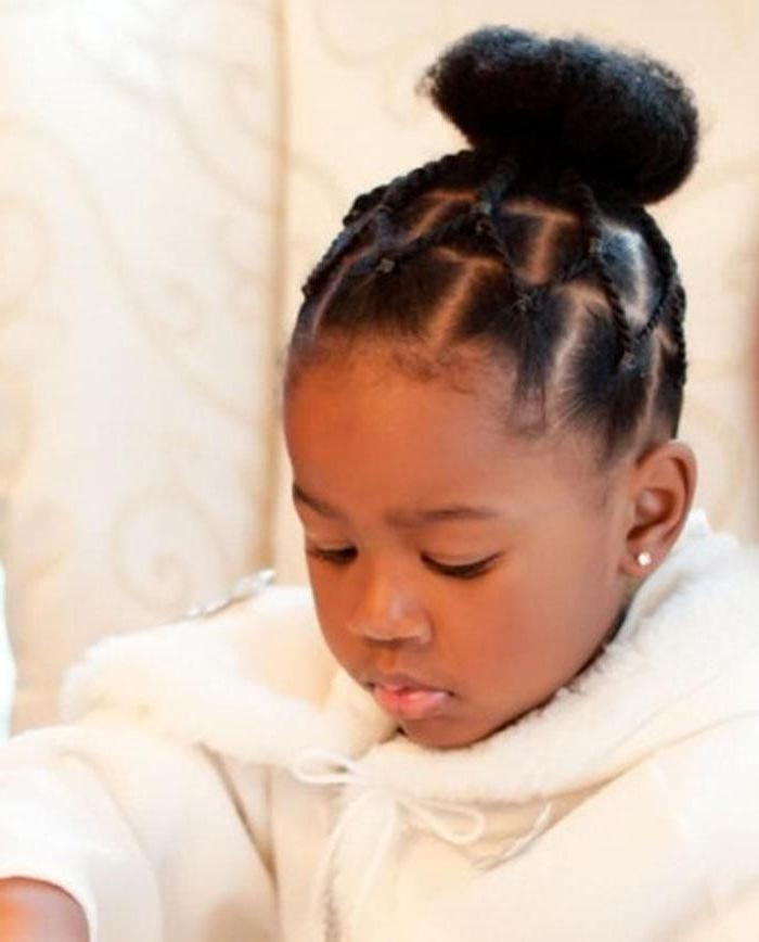 The 25+ Best Black Baby Hairstyles Ideas On Pinterest | Natural Pertaining To Black Baby Hairstyles For Short Hair (View 13 of 15)