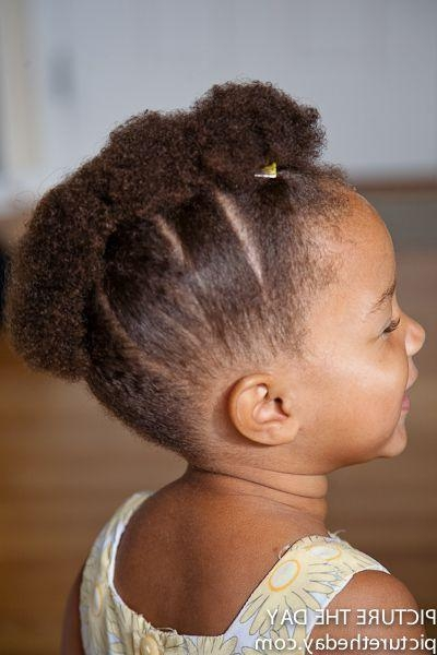 The 25+ Best Black Toddler Hairstyles Ideas On Pinterest | Natural Within Black Baby Hairstyles For Short Hair (View 9 of 15)