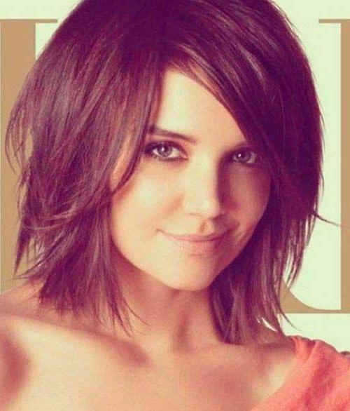 The 25+ Best Bobs For Thick Hair Ideas On Pinterest | Short Thick With Regard To Medium To Short Haircuts For Thick Hair (View 15 of 15)