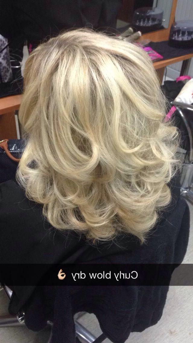 The 25+ Best Curly Blowdry Ideas On Pinterest | Rapunzel Hair With Regard To Blow Dry Short Curly Hair (View 15 of 15)
