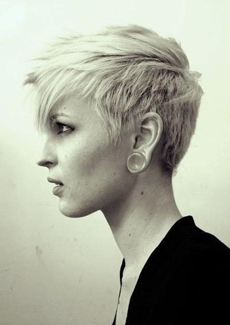 The 25+ Best Edgy Short Haircuts Ideas On Pinterest | Edgy Short Within Short Edgy Haircuts For Girls (View 15 of 15)