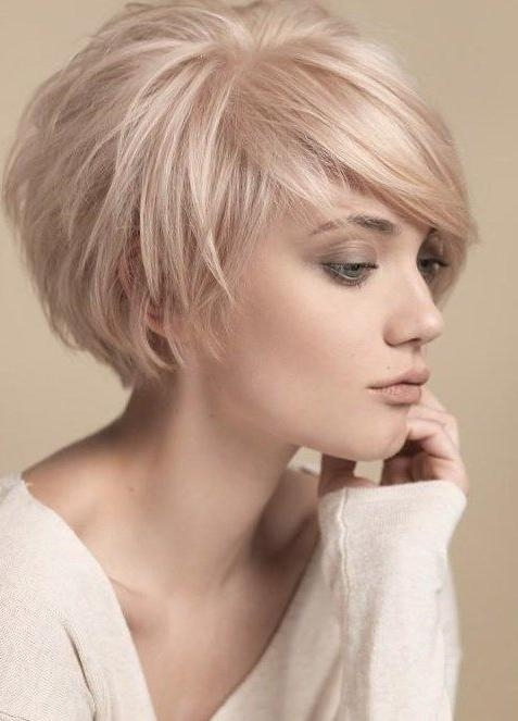 The 25+ Best Feminine Short Hair Ideas On Pinterest | Long Pixie Regarding Short Feminine Hairstyles For Fine Hair (View 12 of 15)