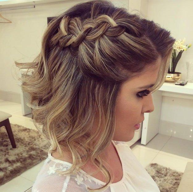 The 25+ Best Hair 24 Ideas On Pinterest | Buns For Short Hair Intended For Hairstyles For A Wedding Guest With Short Hair (View 13 of 15)