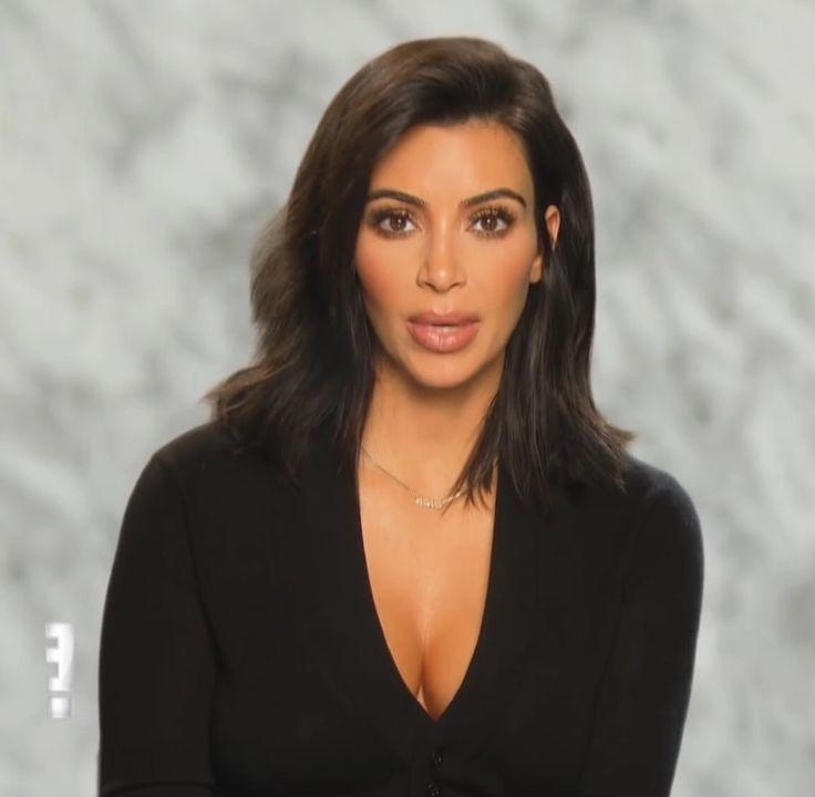 The 25+ Best Kim Kardashian Haircut Ideas On Pinterest | Kim In Kim Kardashian Short Hairstyles (View 14 of 15)