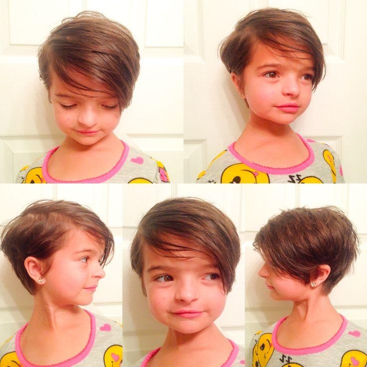 Photo Gallery Of Little Girl Short Hairstyles Pictures Viewing 6 Of
