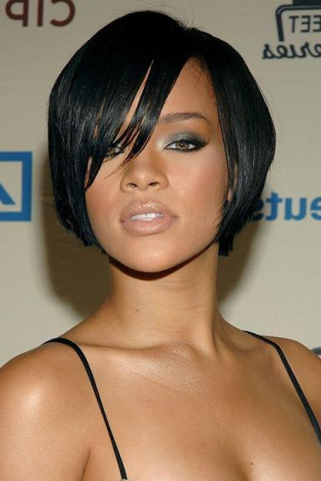 Short To Medium Black Hairstyles