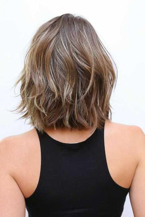 The 25+ Best Medium Short Haircuts Ideas On Pinterest | Medium For Short To Mid Length Hairstyles (View 13 of 15)