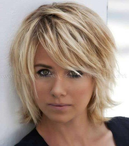 The 25+ Best Medium Short Haircuts Ideas On Pinterest | Medium In Short To Mid Length Hairstyles (View 14 of 15)