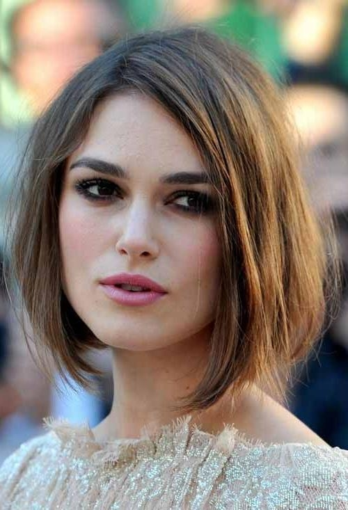 The 25+ Best Oval Face Hairstyles Ideas On Pinterest | Face Shape For Short Bobs For Oval Faces (View 6 of 15)