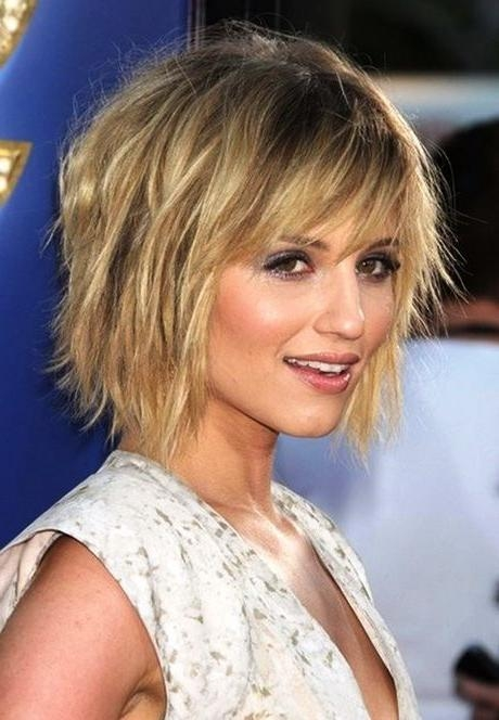 The 25+ Best Short Fine Hair Ideas On Pinterest | Fine Hair Cuts Intended For Trendy Short Haircuts For Fine Hair (View 15 of 15)
