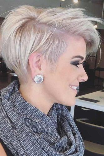 The 25+ Best Short Haircuts Ideas On Pinterest | Blonde Bobs In Trendy Short Hair Cuts (View 8 of 15)