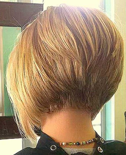 The 25+ Best Short Inverted Bob Ideas On Pinterest | Stacked In Short Inverted Bob Haircuts (View 8 of 15)