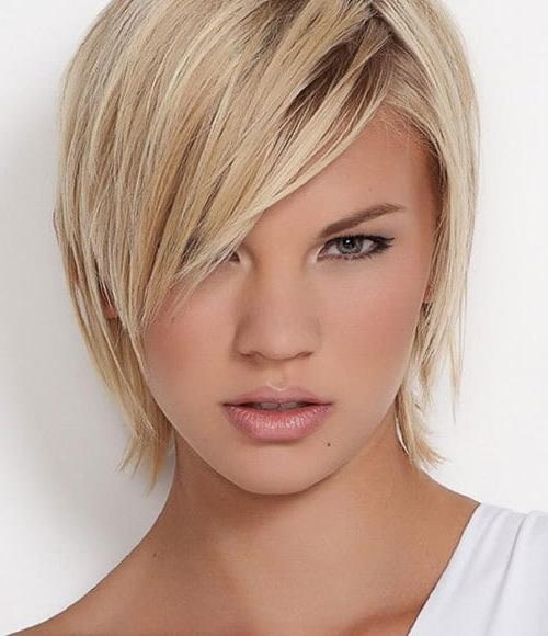 Top 10 Short Hairstyles For Oval Faces – Sneak The Peak Pertaining To Short Hairstyles Oval Face (View 15 of 15)