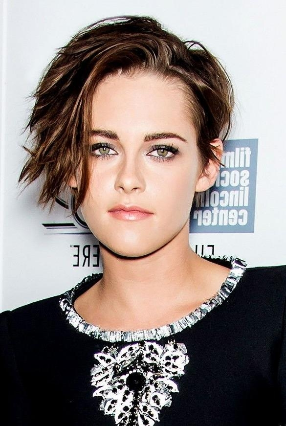 Top 25+ Best Kristen Stewart Short Hair Ideas On Pinterest Inside Short Edgy Girl Haircuts (View 15 of 15)