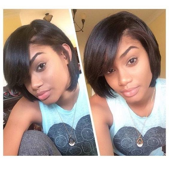 Top 25+ Best Short Black Hairstyles Ideas On Pinterest | African Inside Black Short Layered Hairstyles (View 15 of 15)