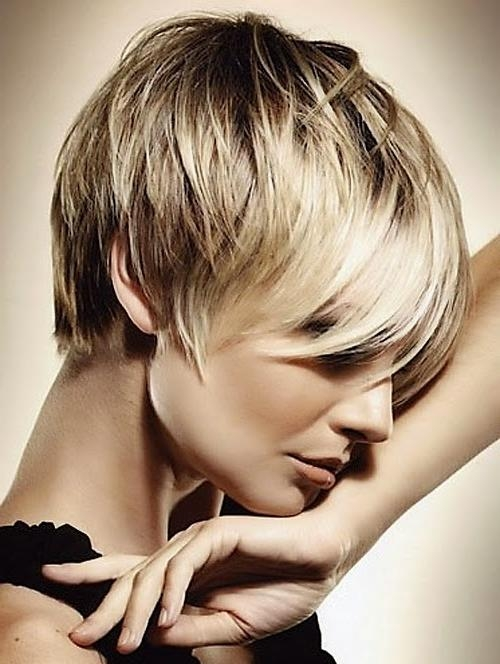 Trendy New Short Haircuts: Short Hair Styles For Women Throughout Short Trendy Hairstyles For Women (View 14 of 15)