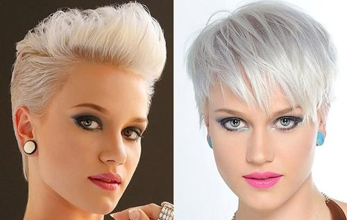 Photo Gallery Of Short Funky Hairstyles For Over 40 Viewing