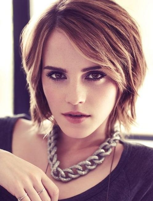 Trendy Short Hairstyles: Celebrity Haircuts – Popular Haircuts Throughout Trendy Short Hair Cuts (View 15 of 15)