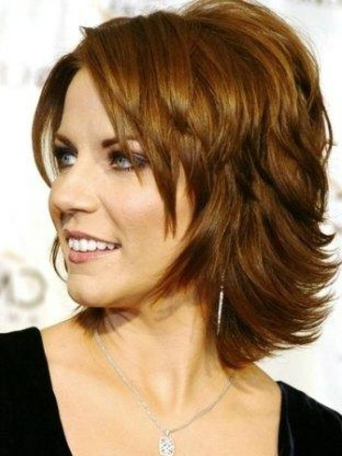 Trendy Short Shag Haircut Trendy Medium Layered Hairstyles For Women With Regard To Short Medium Shaggy Hairstyles (View 15 of 15)