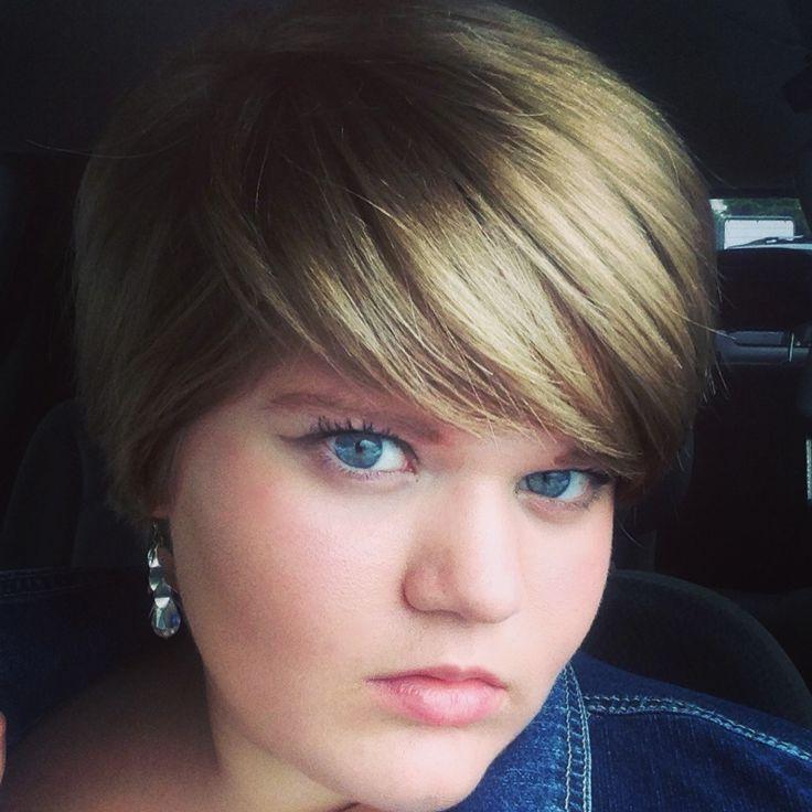 Viac Ako 20 Najlepších Nápadov Na Pintereste Na Tému Fat Girl Intended For Fat Short Hair (Gallery 14 of 15)