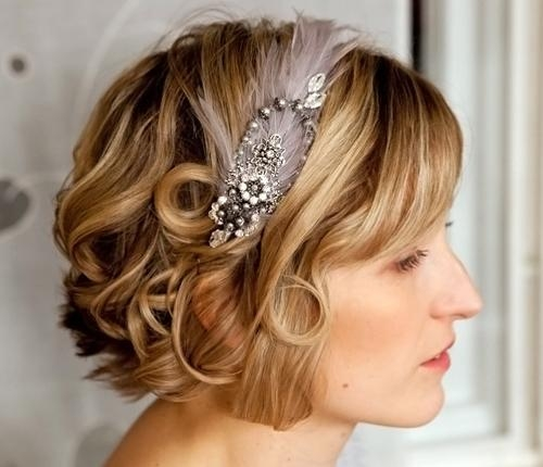 Wedding Hairstyles For Short Hair 2012 – 2013 | Short Hairstyles With Wedding Hairstyles With Short Hair (View 15 of 15)