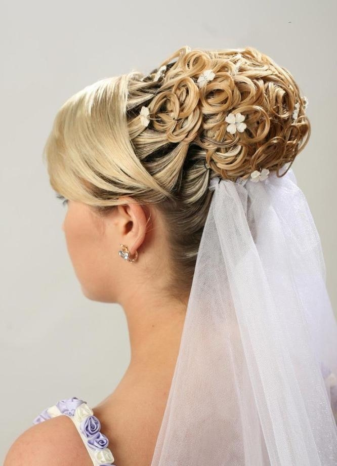 Wedding Hairstyles For Short Hair | Hairjos With Regard To Cute Hairstyles For Short Hair For A Wedding (View 6 of 15)