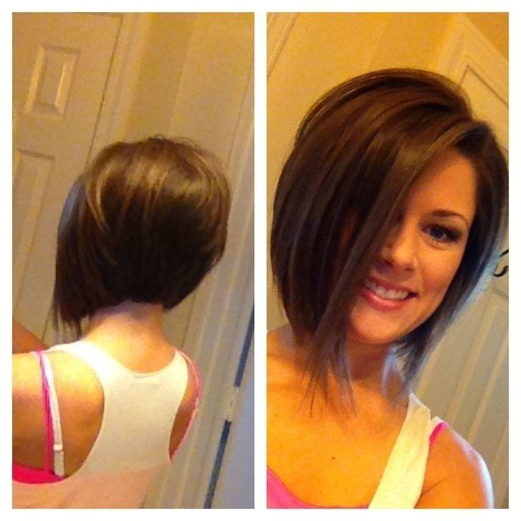 10 Chic Inverted Bob Hairstyles: Easy Short Haircuts (View 1 of 15)