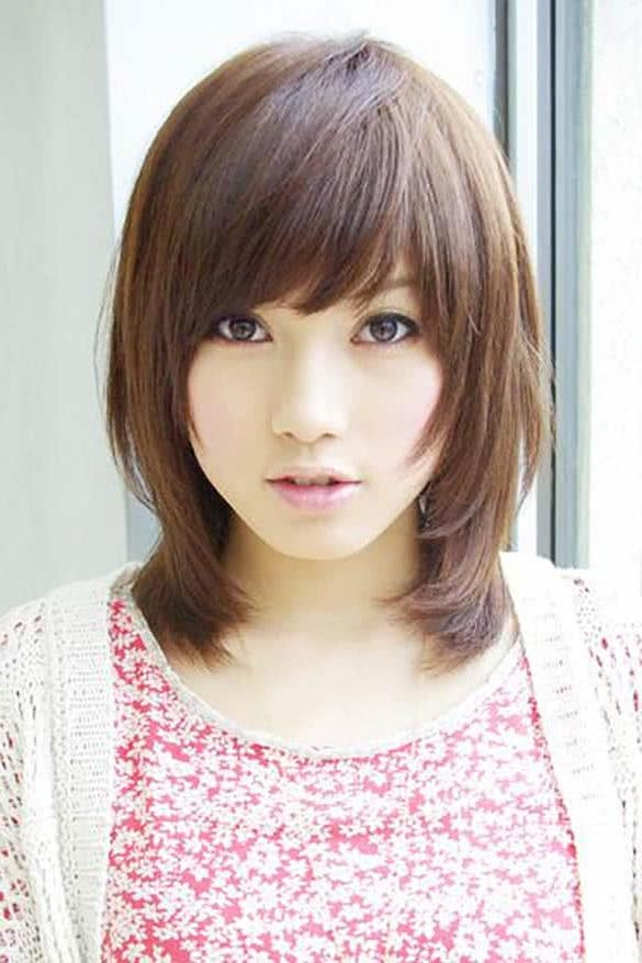 10 Cute Short Hairstyles For Asian Women Within Short Hairstyle For Asian Women (View 6 of 15)