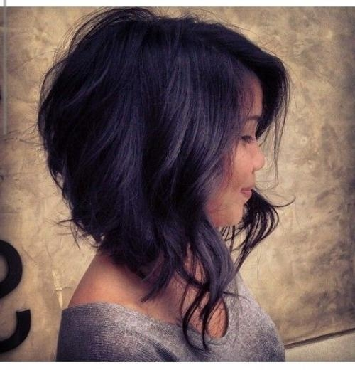 10 Medium Length Haircuts For Thick Hair (View 1 of 15)