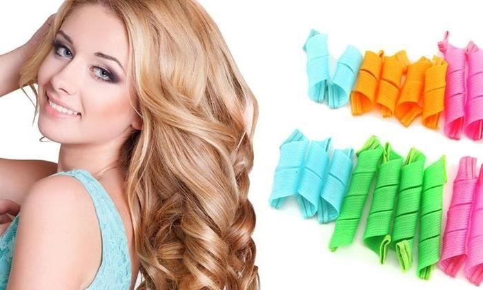 15 Best Ideas Of Curlers For Long Hair Thick Hair With Curlers For Long Thick Hair (View 2 of 15)
