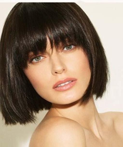 haircuts with straight bangs 15 inspirations of haircuts with bangs 4827 | 15 dominating short hairstyles with bangs hairstyle for women for short haircuts with straight bangs