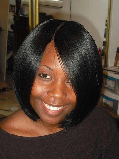 15 Short Bob Haircuts For Black Women (View 1 of 15)