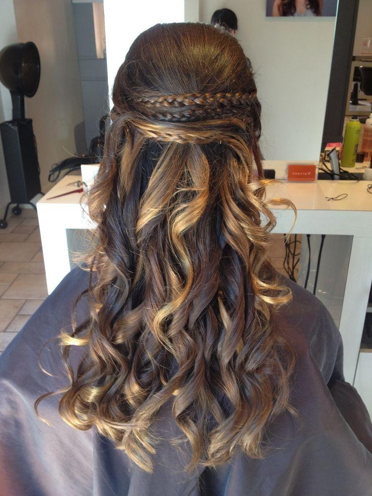 18 Best Graduation Hairstyles Images On Pinterest | Graduation Within 8Th Grade Graduation Hairstyles For Long Hair (View 2 of 15)
