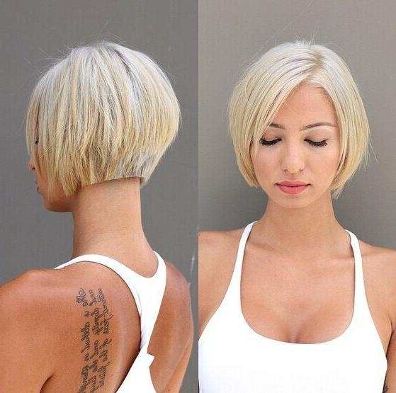20 Newest Bob Hairstyles For Women: Easy Short Haircut Ideas With Regard To Preferred Short Style Bob Hairstyles (Gallery 11 of 15)